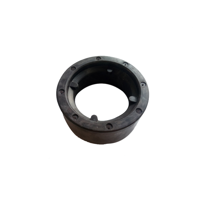 Radial 8 Pole Injection Molded Ferrite Ring