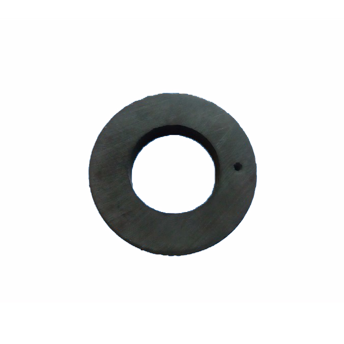 Axial ferrite ring with 6 poles
