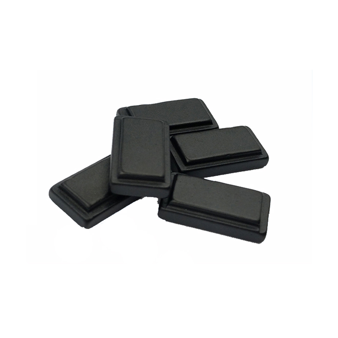 Black epoxy convex strong magnet