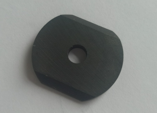 A magnet with a hole in the middle