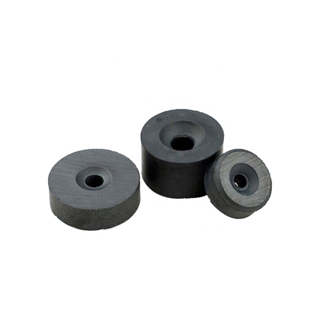 Ferrite Sinking hole ring shape magnet