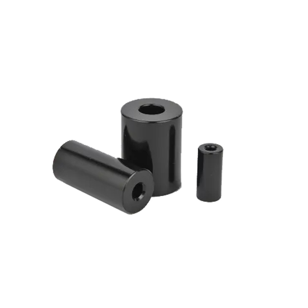 Black Epoxy Coated Hollow Cylinder Magnet