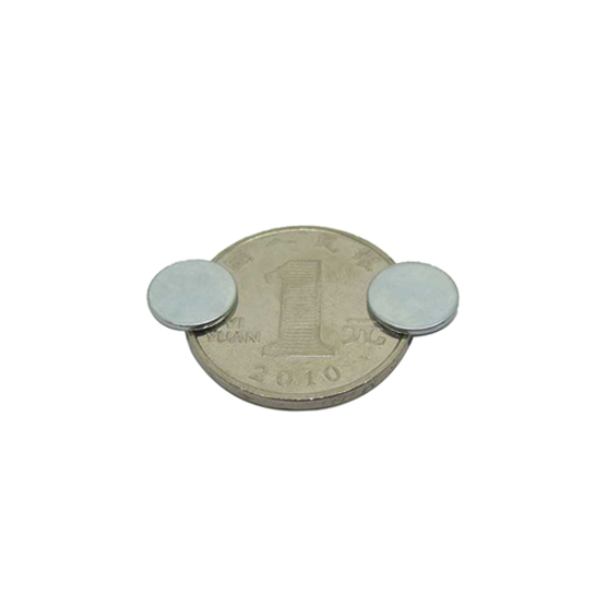 0.4mm strong magnet, dia 10mm x thick 0.4mm