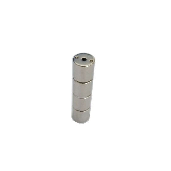 2 hole depth 1.2mm cylindrical magnets