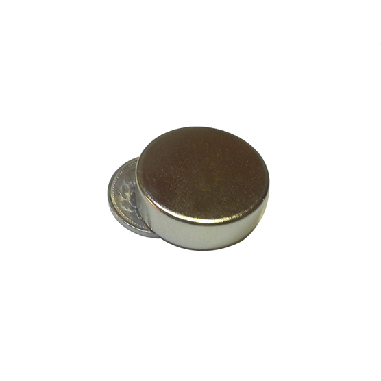 N52 magnet disc dia 40mm x 20mm nickel plating