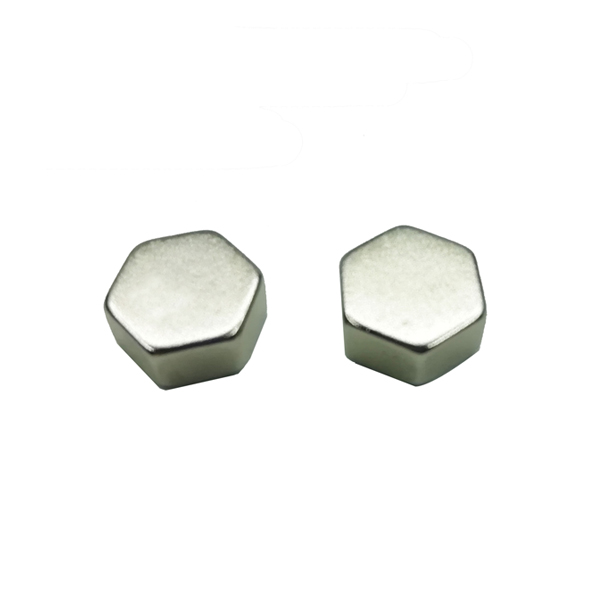 Custom shape hexagon rare earth strong magnet