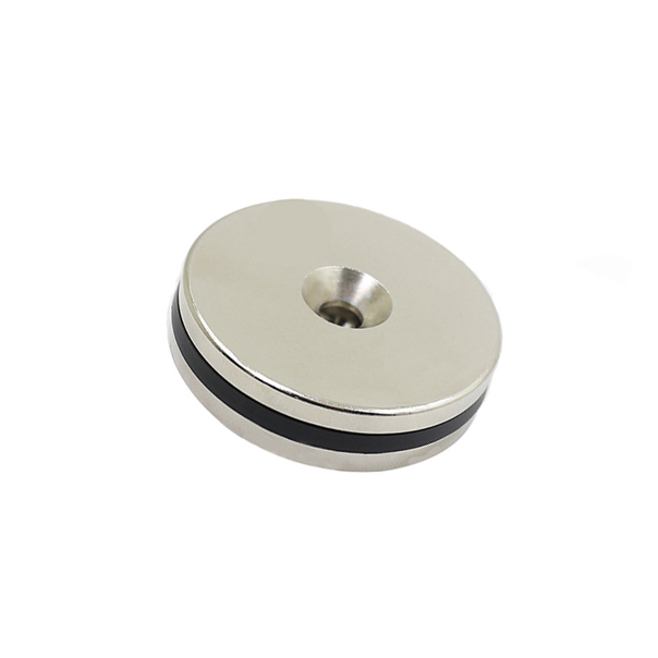 50mm diameter round countersunk magnets
