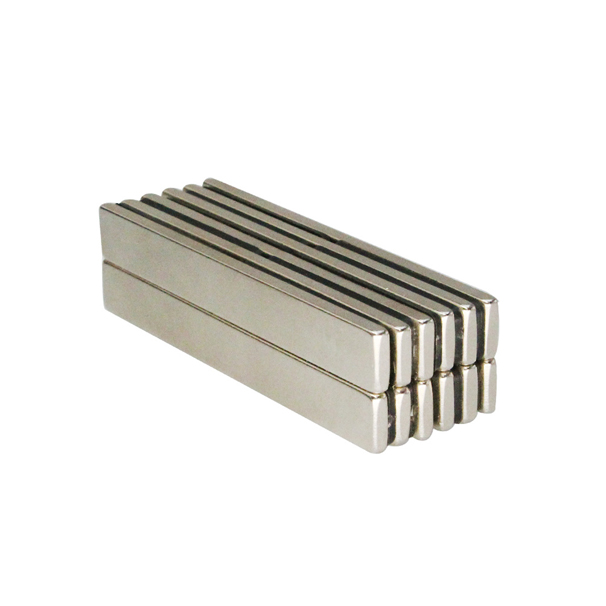 Bulk neodymium bar magnets, Length 80mm