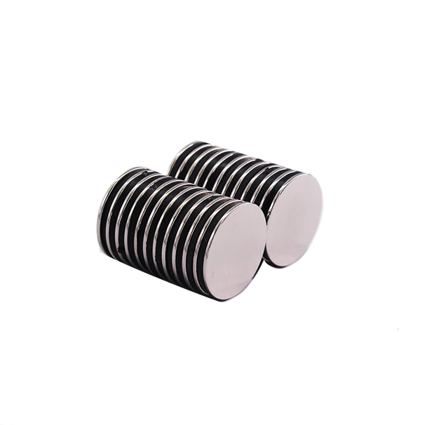 Thin round magnet diameter 12mm x thickness 1mm