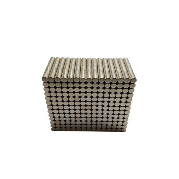 Nickel plated SmCo magnet, temperature resistance 350°C