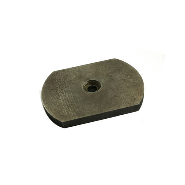 SmCo permanent magnet with special shaped countersunk hole