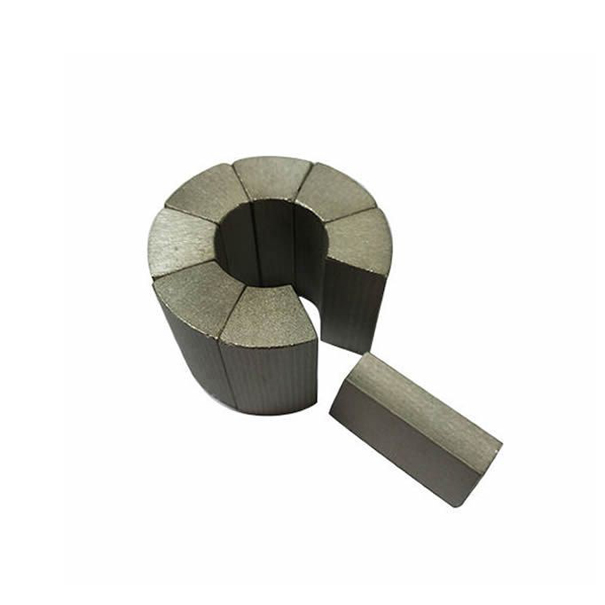 Motor arc smco permanent magnet