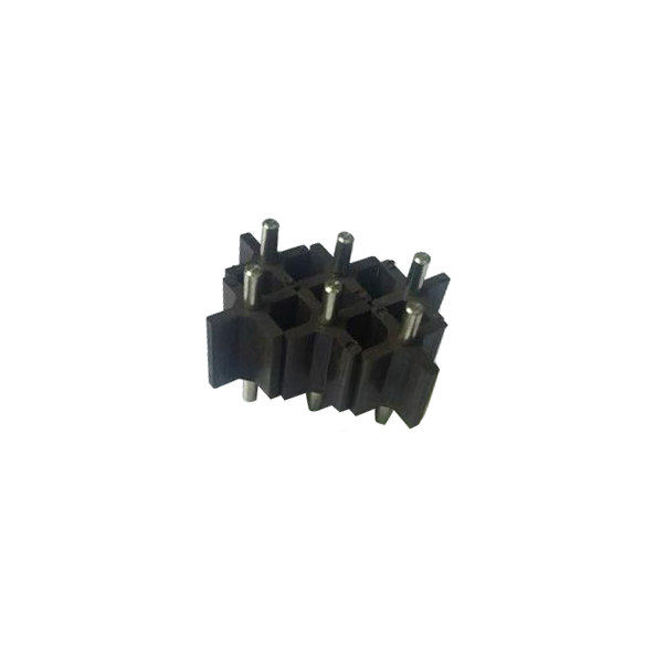 4 pole plastic magnetic cross rotor for water heater