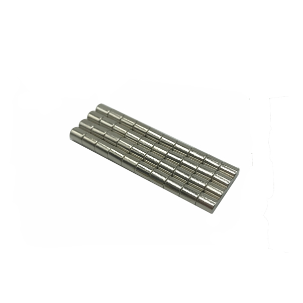 Pile driving magnets,4x5 mm nickel-plated magnet