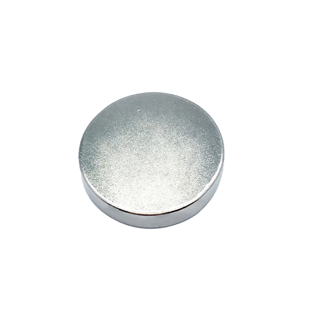 Circular large diameter apertureless magnet